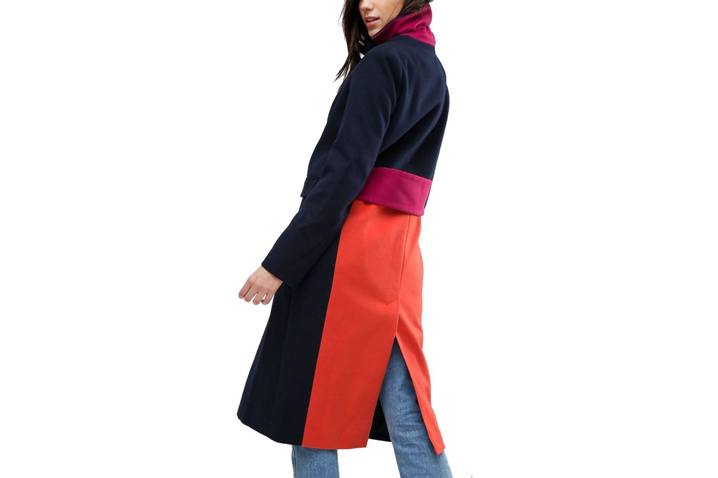ASOS Color Block Coat