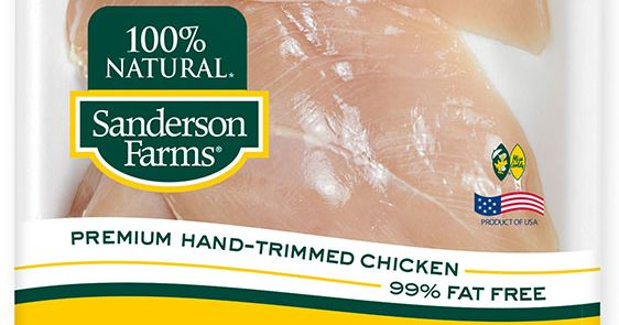 Club Drugs Found In Sanderson Farms 100 Natural Chicken