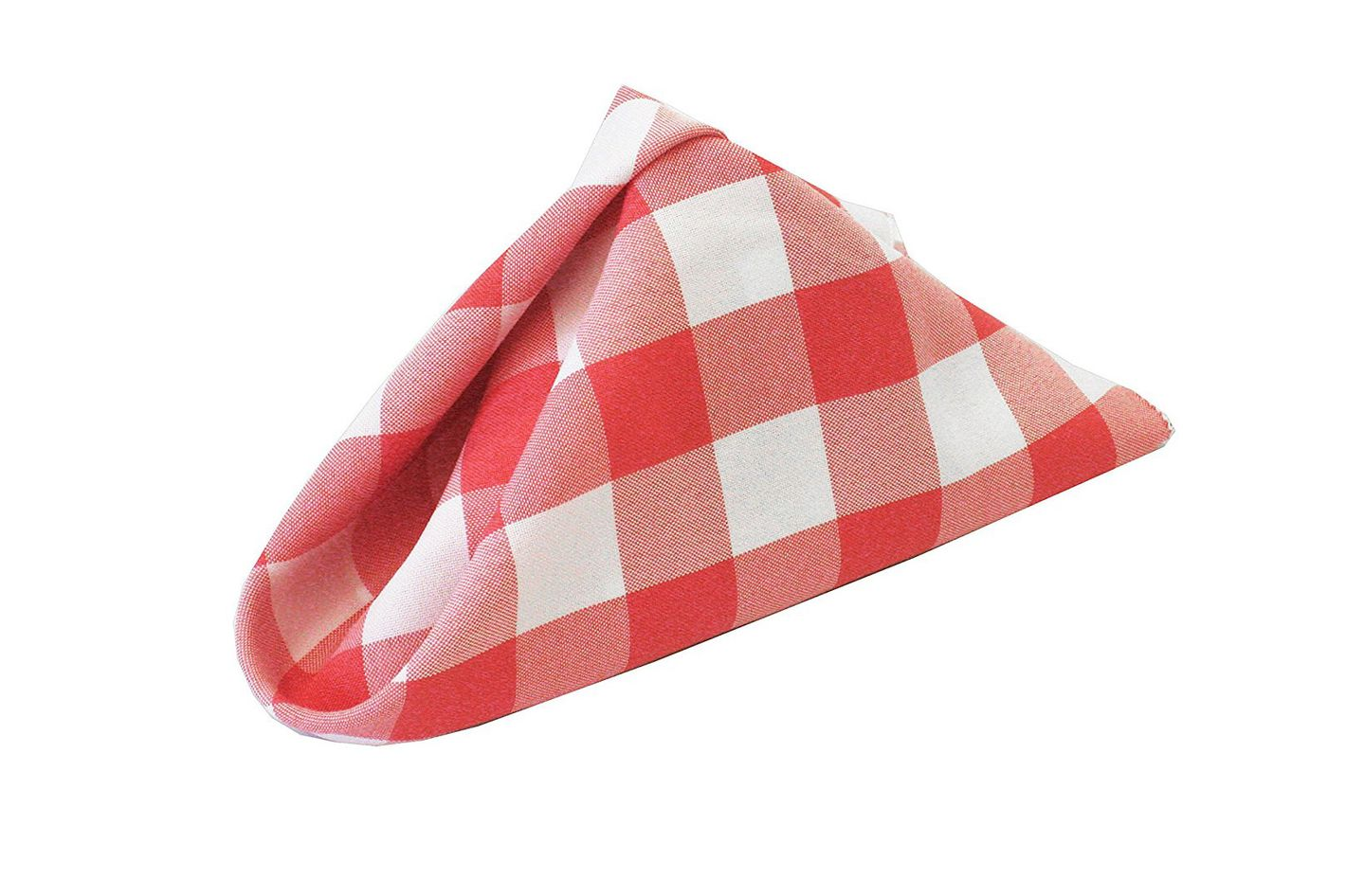 LA Linen Checkered Gingham Napkins