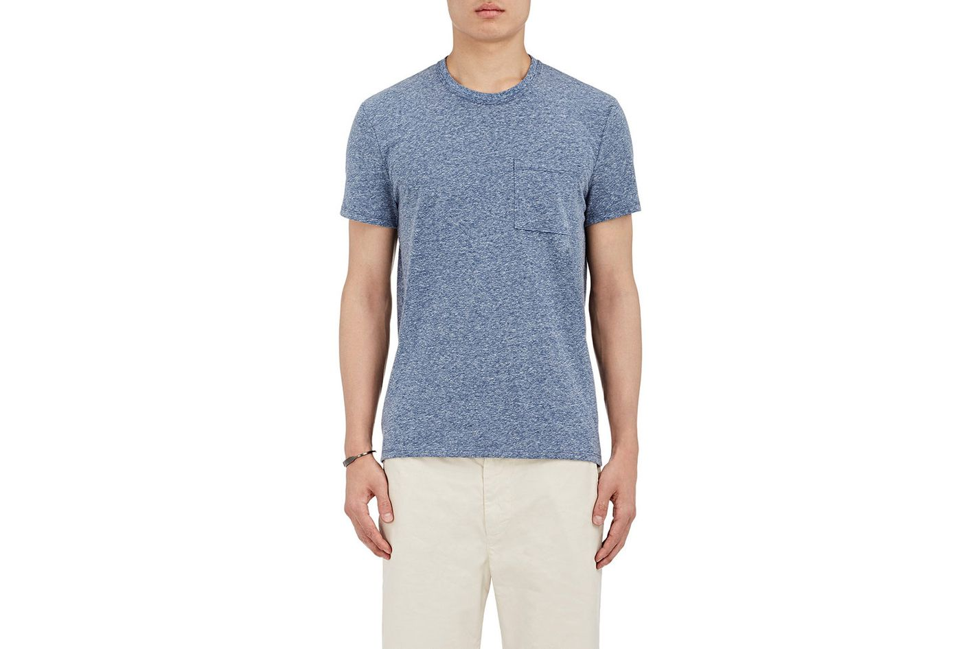ATM Anthony Thomas Melillo Marled Cotton-Blend Jersey T-shirt