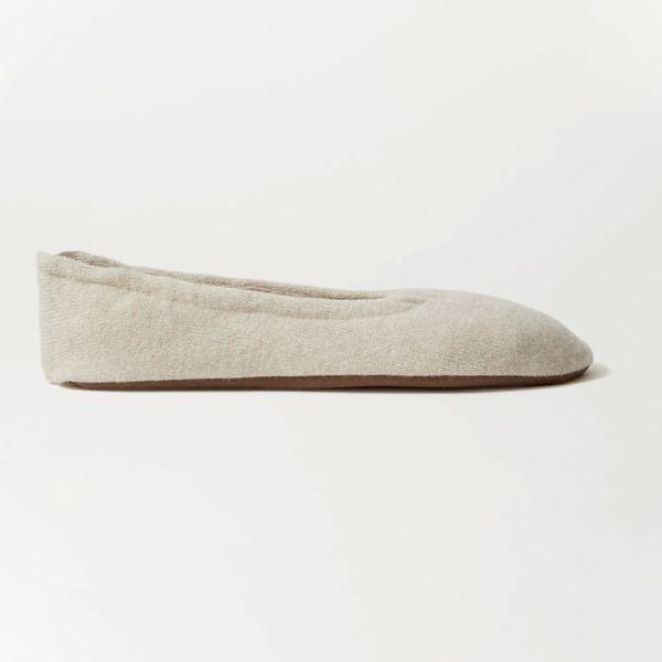 Skin Cashmere ballet flats