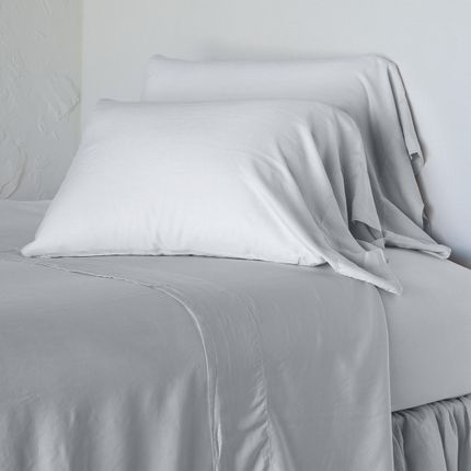 Sleep /& Dream Black Luxury Percale Plain Dyed Bedlinen King Fitted Sheet