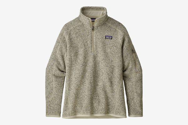 Patagonia Girls' Better 1/4-Zip Sweater