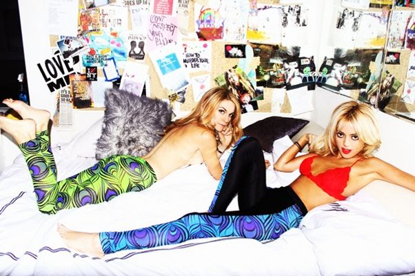 Leah McSweeney (left) and Cat Marnell.