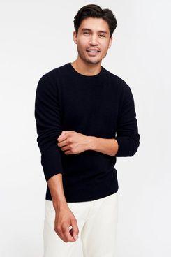 NAADAM The Essential Cashmere Sweater, Navy