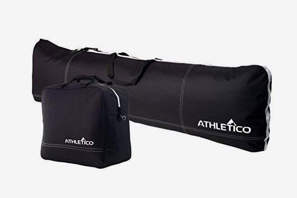 Athletico Padded Two-Piece Snowboard and Boot Bag Combo