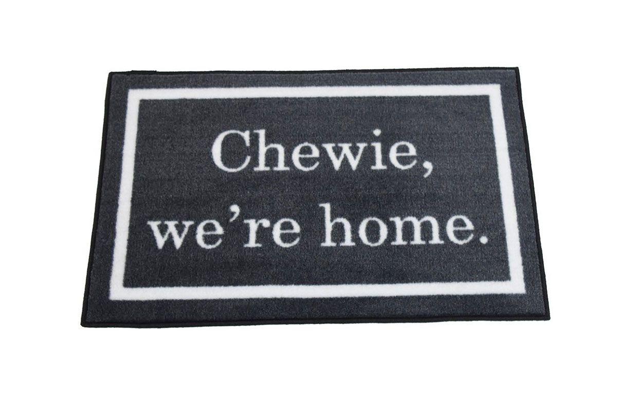 Chewie We're Home Welcome Door Mat
