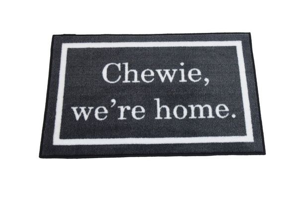 Chewie We're Home Welcome Door Mat