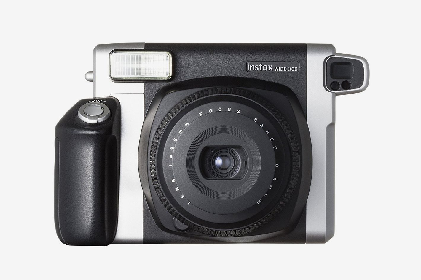 Fujifilm Instax Wide 300 Instant Film Camera (Black) and Instax Wide Instant Film, 20 Exposures