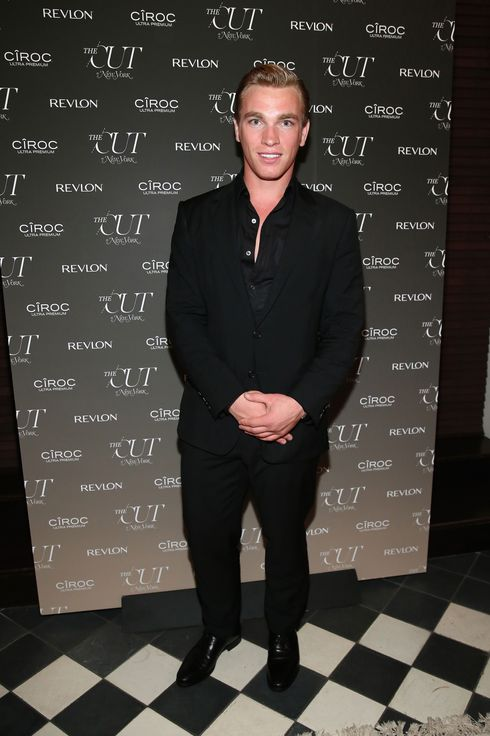Nick Gruber attends The Cut and New York Magazine's Fashion Week Party with Revlon and Ciroc  at Gramercy Terrace at The Gramercy Park Hotel on September 12, 2013 in New York City.
