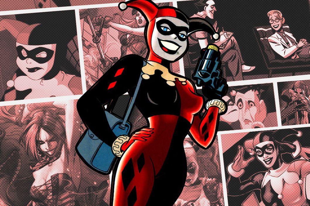 The Strange Hidden Story of Harley Quinn  Vulture