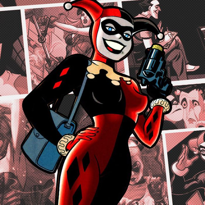 Harley Quinn Robin Cartoon