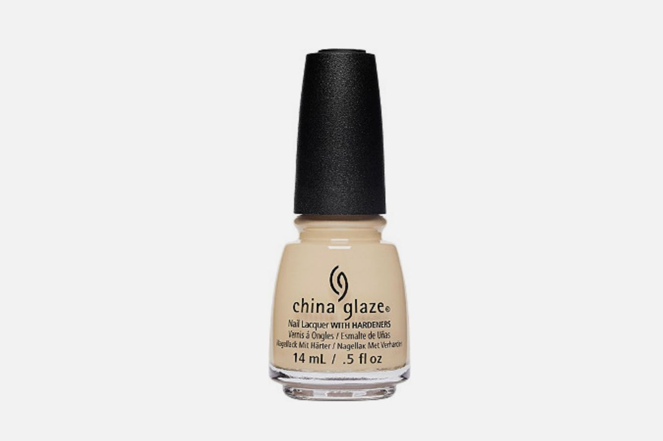 China Glaze Nail Lacquer in Bourgeois Beige
