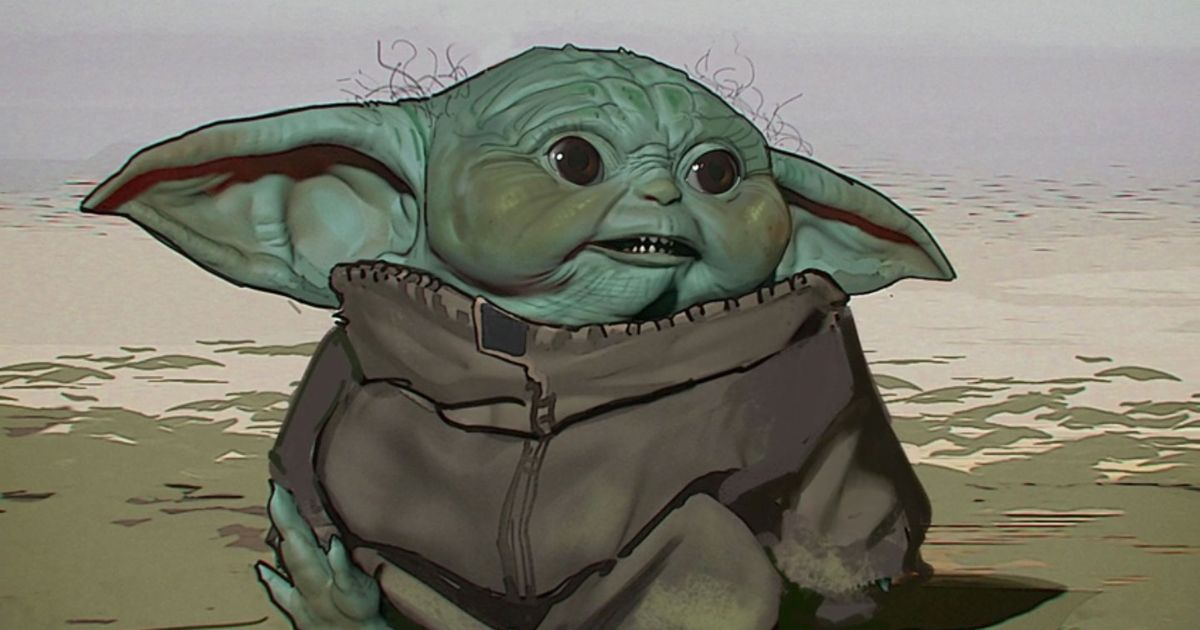 The Mandalorian Disney Reveals Baby Yoda Concept Art