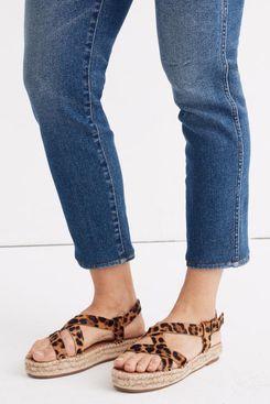 Malia Espadrille Sandal in Leopard