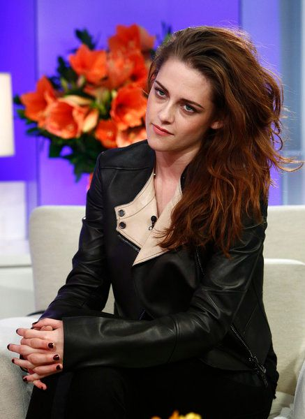 "TODAY -- Pictured: Kristen Stewart appears on NBC News' ""Today"" show -- (Photo by: Peter Kramer/NBC)"