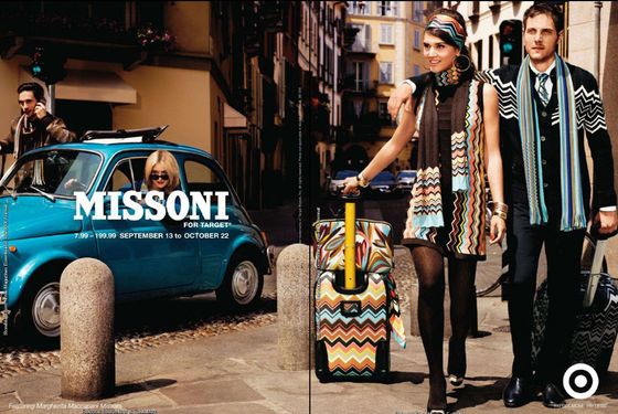 See the First Clear, Official Shot of Target's Missoni Line