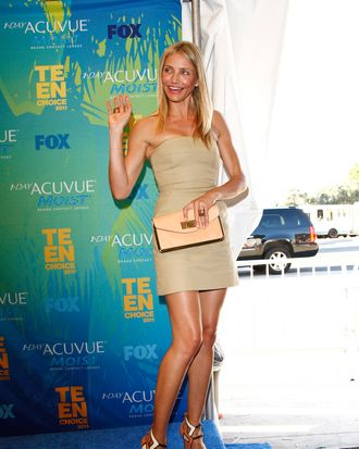 Cameron Diaz at the Teen Choice Awards.