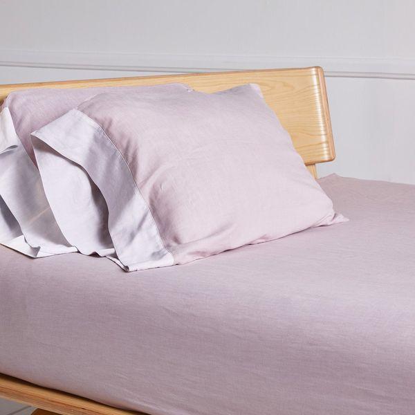 Parachute Rose-Washed Sateen Pillowcase Set