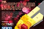 Which Manhattan Neighborhood Has the Most Happy Hours?