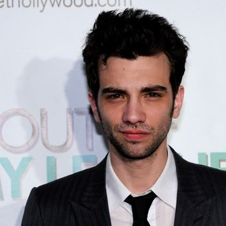 Actor Jay Baruchel arrives at the Las Vegas premiere of