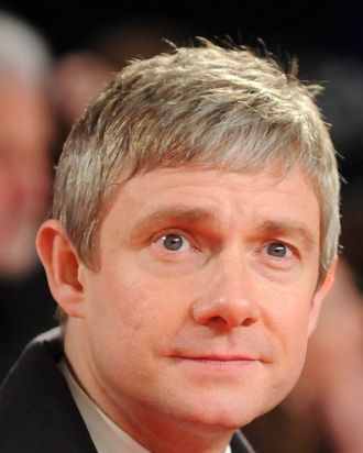 Martin Freeman attends the National Television Awards at 02 Arena on January 23, 2013 in London, England.