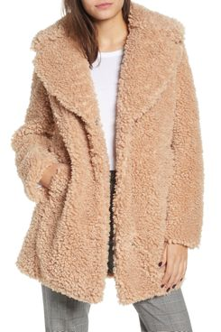 Kenzie Faux Shearling Coat