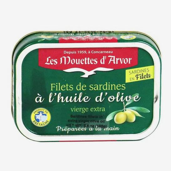 Les Mouettes d'Arvor Sardines Fillets in Olive Oil