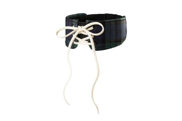 Fenty Plaid Choker