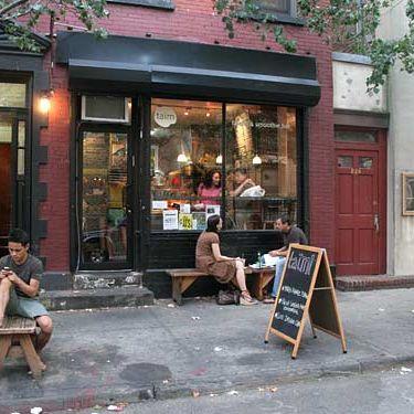 Taïm's West Village digs.