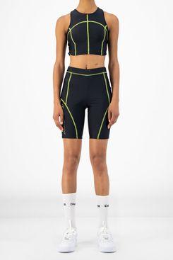 Daily Paper Black Rebike Shorts