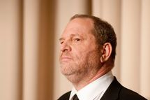 "WASHINGTON, DC - MARCH 15: Harvey Weinstein speaks during a panel discussion after a screeing of the documentary ""Bully"" at MPAA on March 15, 2012 in Washington, DC. (Photo by Kris Connor/Getty Images for The Weinstein Company)"