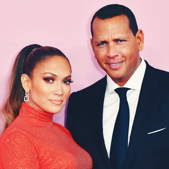 J.Lo and A-Rod.