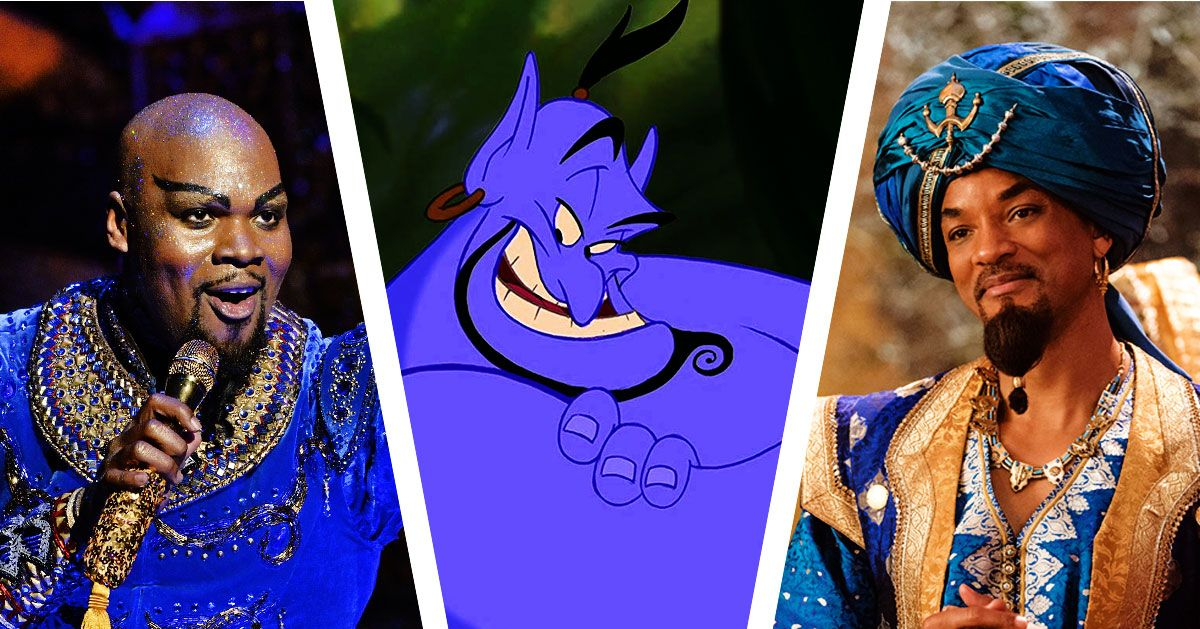 The Racial Wonderland Of Aladdin S Genie