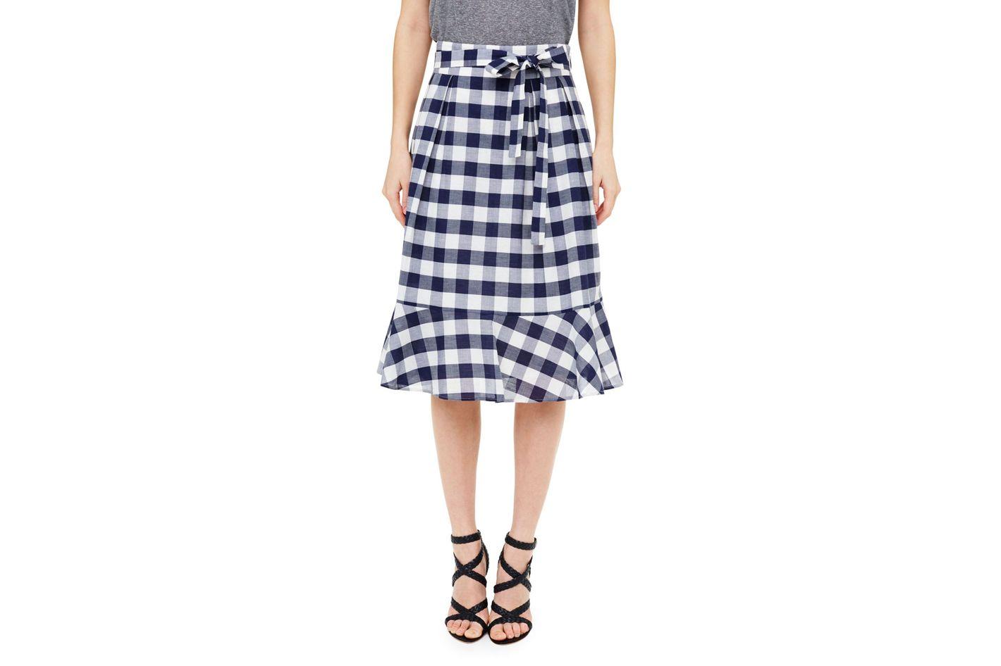 Club Monaco Plumina Plaid Skirt