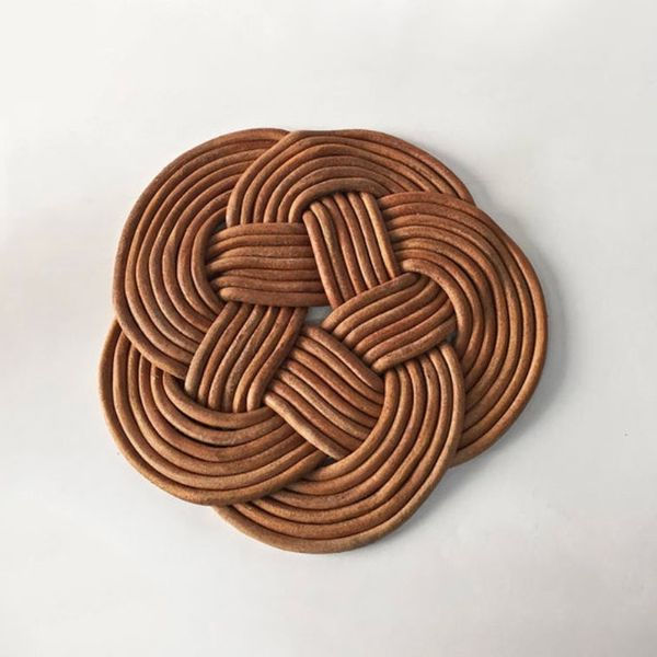 Bartleby Leather Objects Leather Trivet