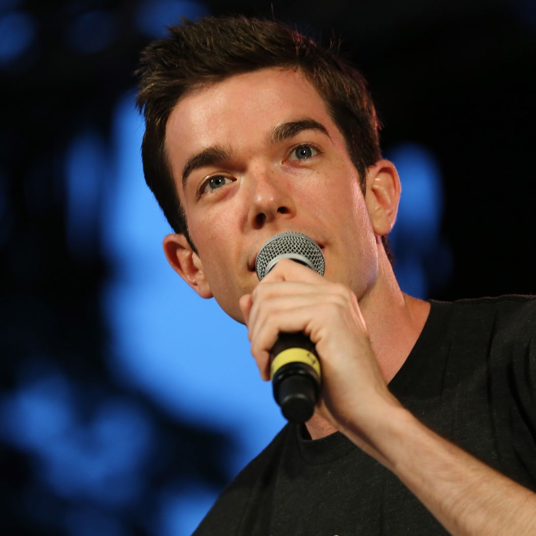NEW YORK, NY - JUNE 26:  Comedian John Mulaney performs on stage at 'Comedy Central's Stars Under the Stars' at Central Park SummerStage on June 26, 2013 in New York City.  (Photo by Neilson Barnard/Getty Images for Comedy Central)