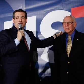Presidential Candidate Ted Cruz Hosts Iowa Caucus Night Celebration