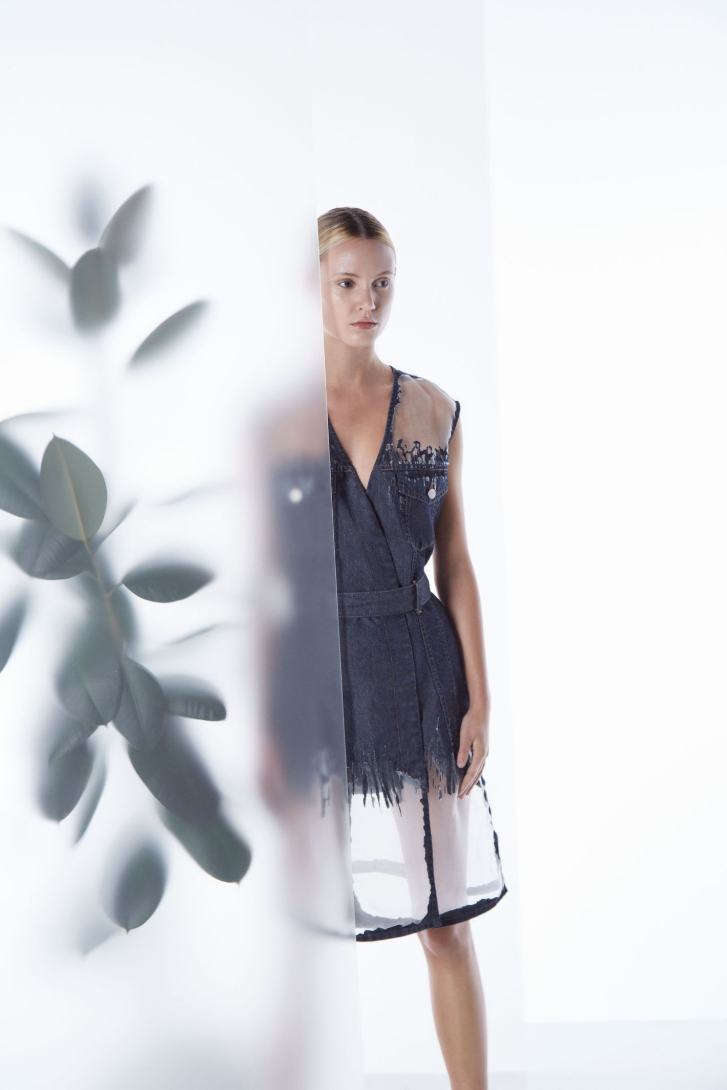 Diesel Denim Lab x Faustine Steinmetz dress