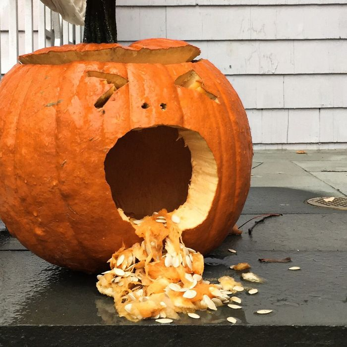 10 Reasons These Pumpkins Are Puking