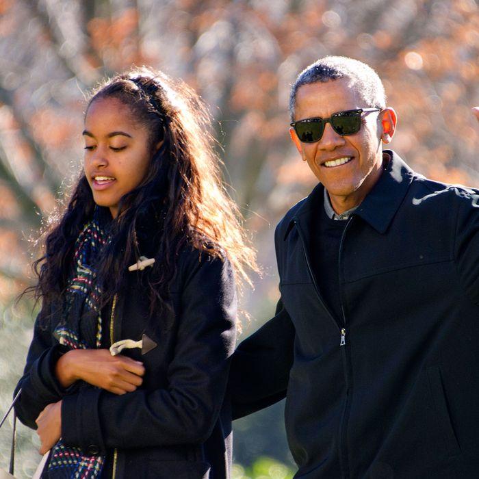 Malia Obama. First daughter. Translator. Cooler than you.