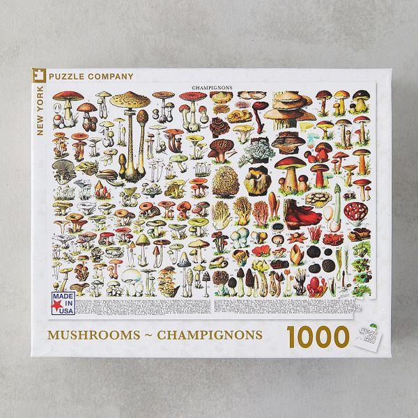 Mushroom Field Guide Puzzle
