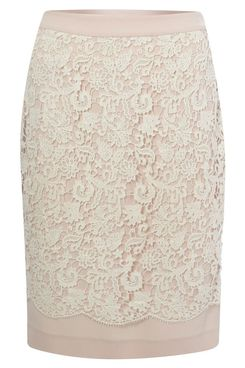 Best Bet: French Connection Crochet Pencil Skirt -- The Cut