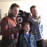 Here Are Some Adorable Photos of Chris Pratt Hanging Out With Kids for His Super Bowl Bet