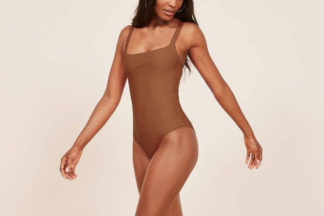Reformation Eliza One Piece Bathing Suit