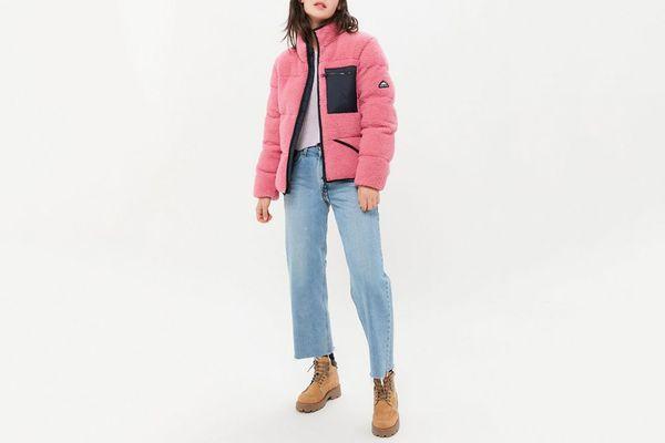 Penfield Williston Sherpa Fleece Zip-Front Jacket