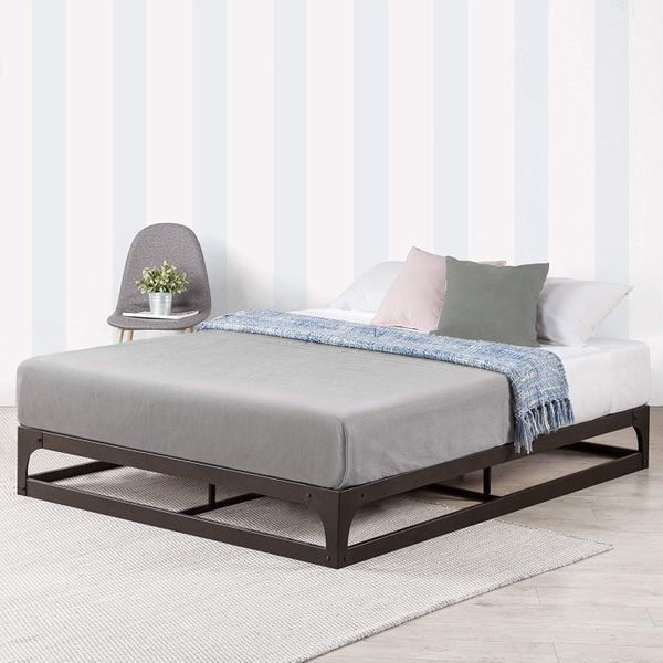 19 Best Metal Bed Frames 2020 The, Metal Queen Size Bed Frame With Headboard