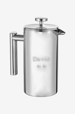 Visol Personalized Stainless-Steel Coffee French Press With Free Engraving