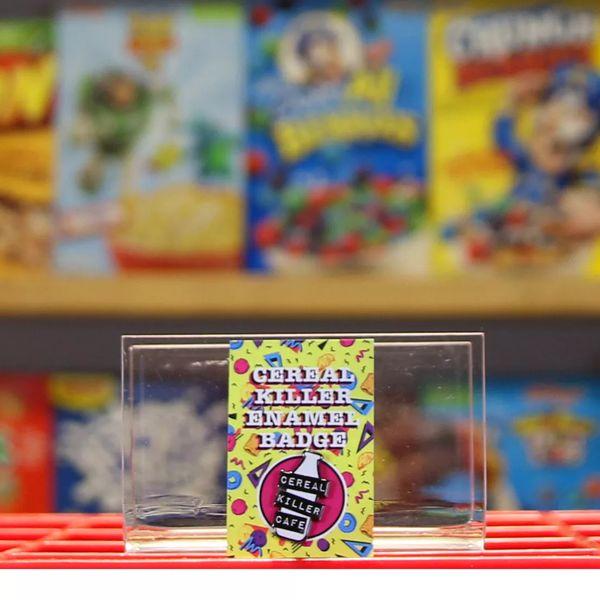 Cereal Killer Enamel Badge