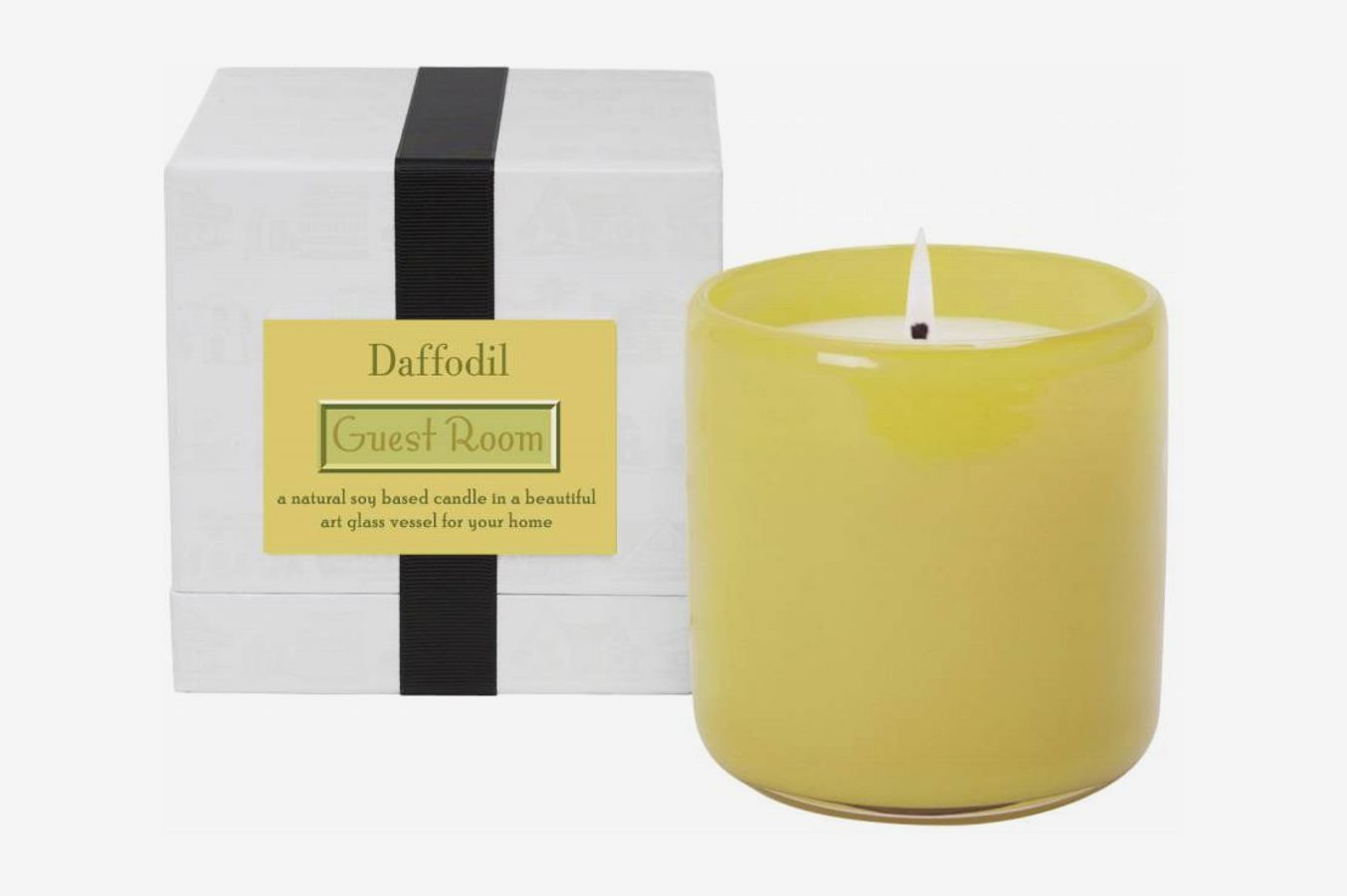 Lafco Guest Room Daffodil Glass Candle